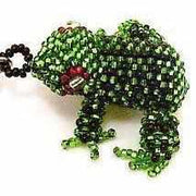 Frog Key Chain - Guatemala-Shop All-Lumily Fair Trade