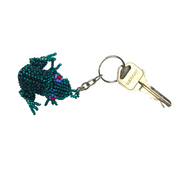 Frog Key Chain (Multicolor) - Guatemala-Shop All-Lumily
