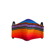 Hacienda Striped Face Mask with Filter Pocket - Guatemala-Apparel-Lumily