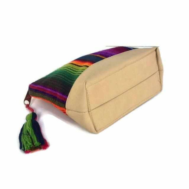 Hacienda Vegan Leather Cosmetic Bag - Guatemala-Shop All-Lumily Fair Trade