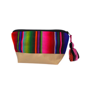 Hacienda Vegan Leather Cosmetic Bag - Guatemala-Shop All-Lumily