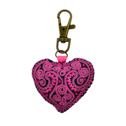 Heart Embroidered Zipper Pull - Thailand-Shop All-Lumily