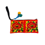 Hmong Rectangle Embroidered Wristlet - Thailand-Shop All-Lumily