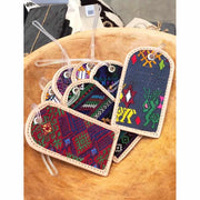 Huipil Luggage Tag - Guatemala-Shop All-Lumily Fair Trade
