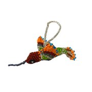 Hummingbird Beaded Ornament - Guatemala-Shop All-Lumily