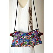 Leyla Embroidered Crossbody Purse - Thailand-Shop All-Lumily