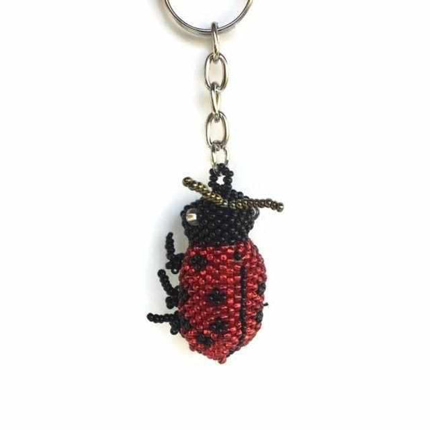 Lady Bug Key Chain - Guatemala