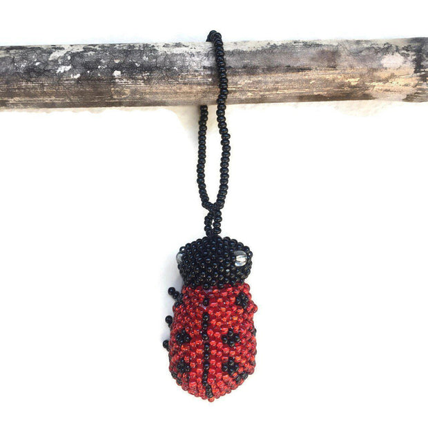 Lady Bug Ornament - Guatemala