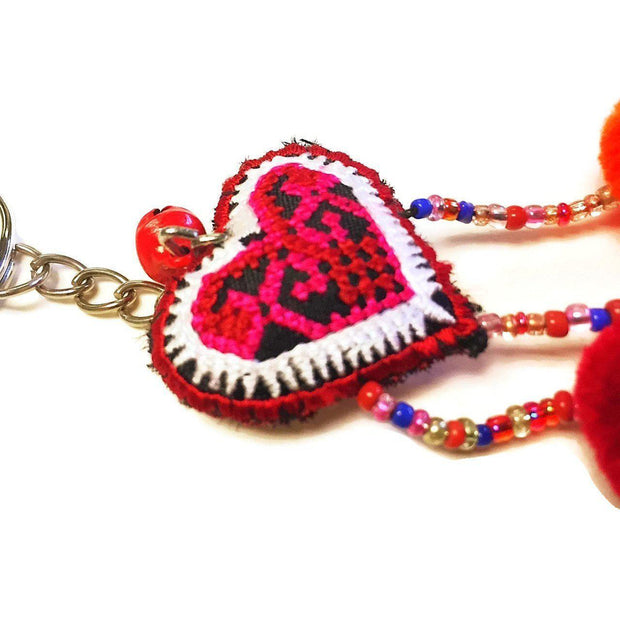 Love Key Chain - Thailand-Shop All-Lumily Fair Trade