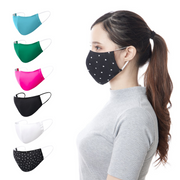 Reusable Cotton Face Mask with Filter Pocket - Thailand-Apparel-Lumily Fair Trade