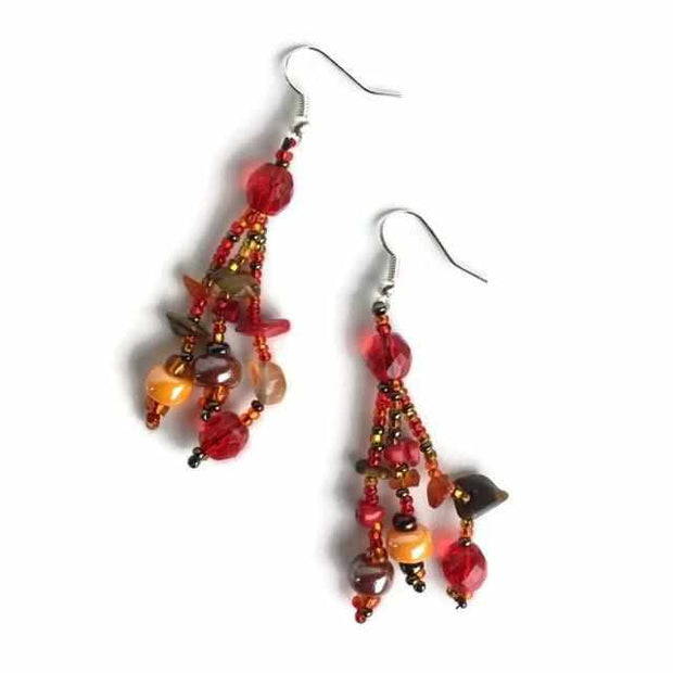 Luzy Earrings - Guatemala-Shop All-Lumily Fair Trade