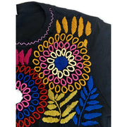 Luzy Embroidered Fitted T-Shirt - Mexico-Apparel-Lumily Fair Trade