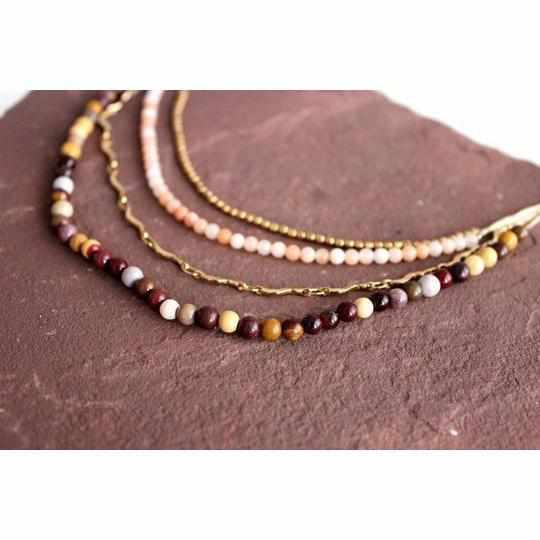 Multi-Strand Beaded Necklace - Thailand-Shop All-Lumily Fair Trade