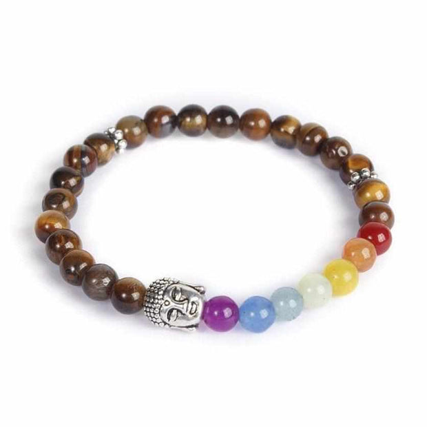 Namaste Chakra Elastic Bracelet - Thailand-Shop All-Lumily