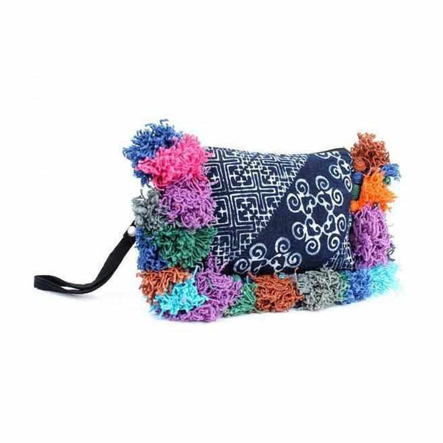 Reina Batik Wristlet - Thailand-Shop All-Lumily Fair Trade