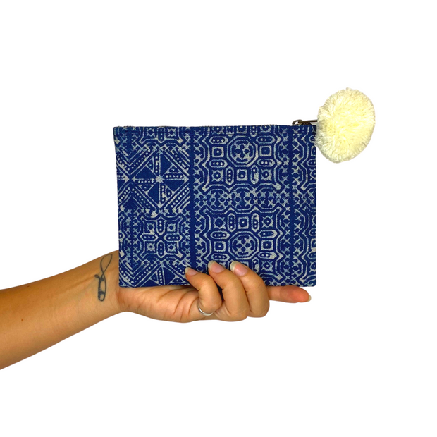 Hmong Oasis Batik Clutch - Thailand-Shop All-Lumily