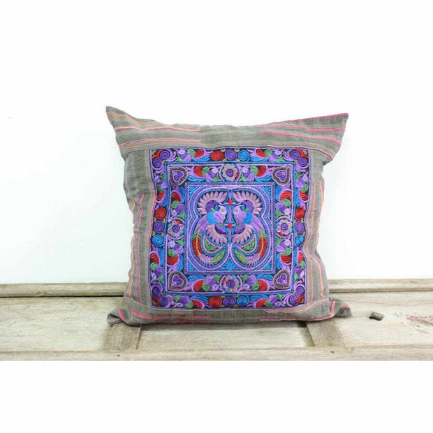 Oversized Sunan Embroidered Pillow Cover - Thailand-Shop All-Lumily