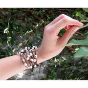 Pearl Cuff Bracelet - Thailand-Shop All-Lumily Fair Trade