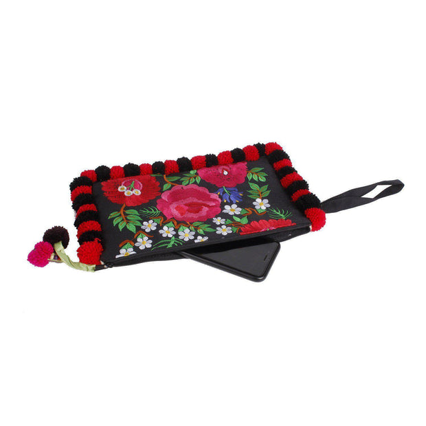 Pom Pom Flower Wristlet - Thailand-Shop All-Lumily Fair Trade