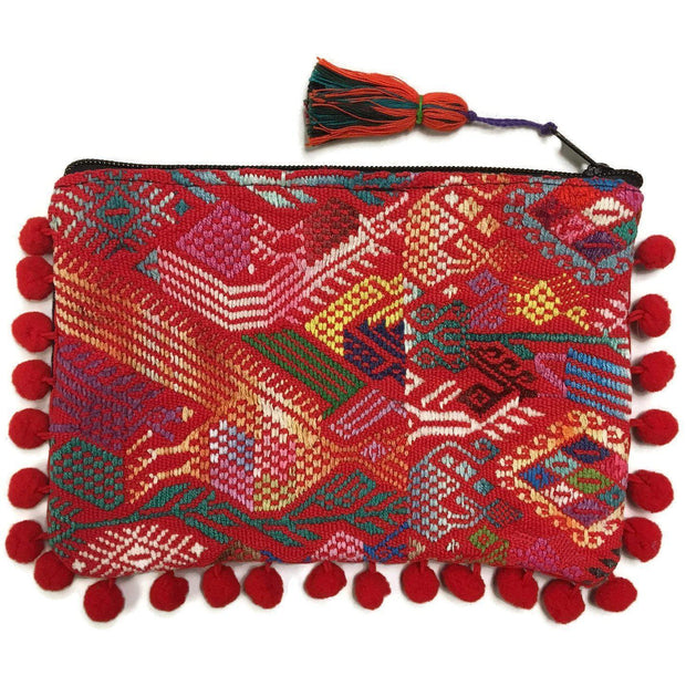 Pom Pom Maya Bag (Assorted Colors) - Guatemala-Shop All-Lumily Fair Trade