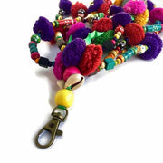 Pyramid Zipper Pull - Thailand-Shop All-Lumily Fair Trade