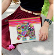 Small Elephant Clutch - Thailand-Bags-Lumily Fair Trade