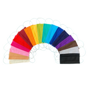 Rainbow Reusable Pleated Unisex Face Mask - Thailand-Apparel-Lumily