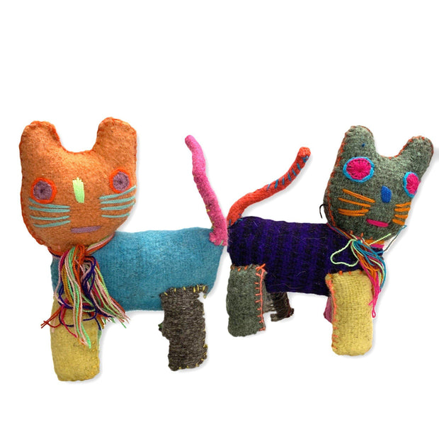 Cat Wool Animal - Mexico-Shop All-Lumily Fair Trade