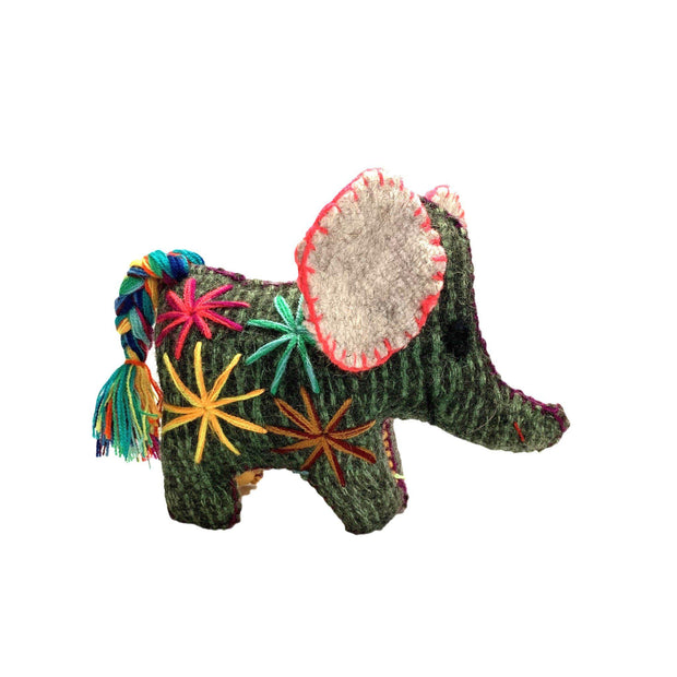 Elephant Wool Animal - Mexico-Shop All-Lumily Fair Trade
