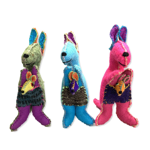 Kangaroo Wool Animal - Mexico-Shop All-Lumily Fair Trade