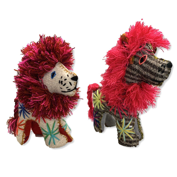 Lion Wool Animal - Mexico-Shop All-Lumily Fair Trade