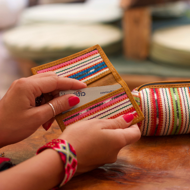San Marcos Business Card Holder - Guatemala-Shop All-Lumily