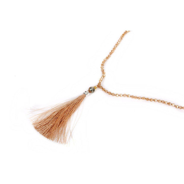 Single Tassel Necklace - Thailand-Jewelry-Lumily Fair Trade