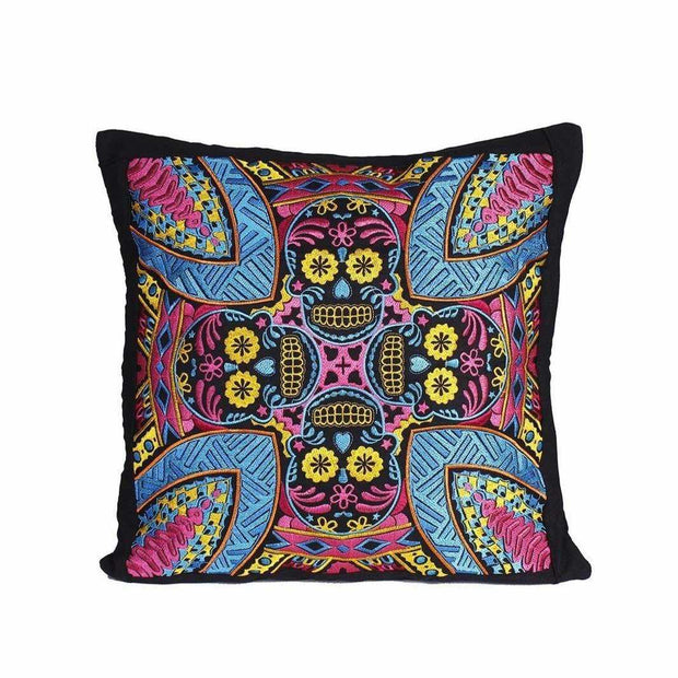 Skull Pillow Cover - Thailand-Lumily