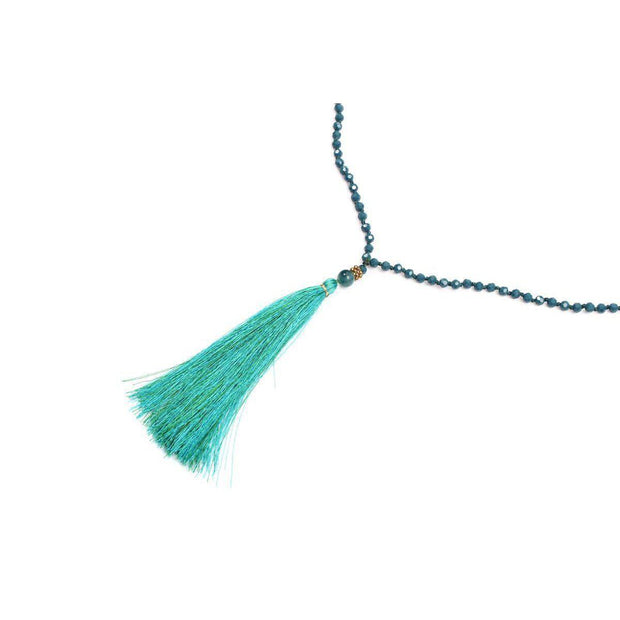 Sonia Tassel Necklace - Thailand-Shop All-Lumily Fair Trade