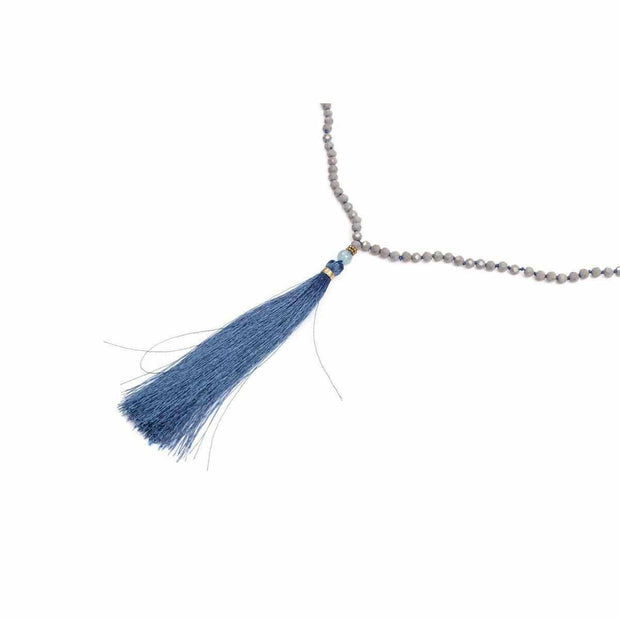 Sonia Tassel Necklace - Thailand-Shop All-Lumily