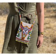 Southwestern Beaded Crossbody Purse - Guatemala-Bags-Lumily Fair Trade