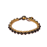 Stackable Bracelet with Brass Beads - Thailand-Shop All-Lumily