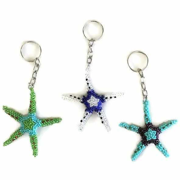 Starfish Key Chain - Guatemala