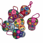 Sugar Skull Embroidered Ornament - Mexico-Shop All-Lumily