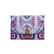 Tahj Embroidered Envelope Clutch - Thailand-Bags-Lumily Fair Trade