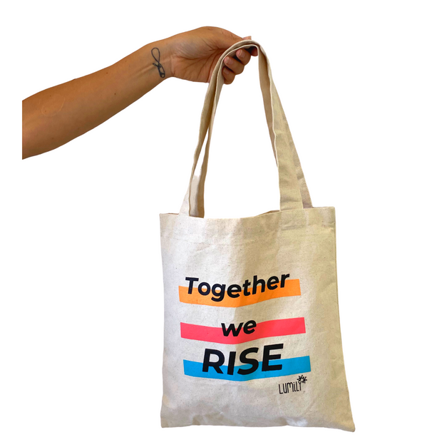 Together We Rise Tote - Guatemala-Shop All-Lumily