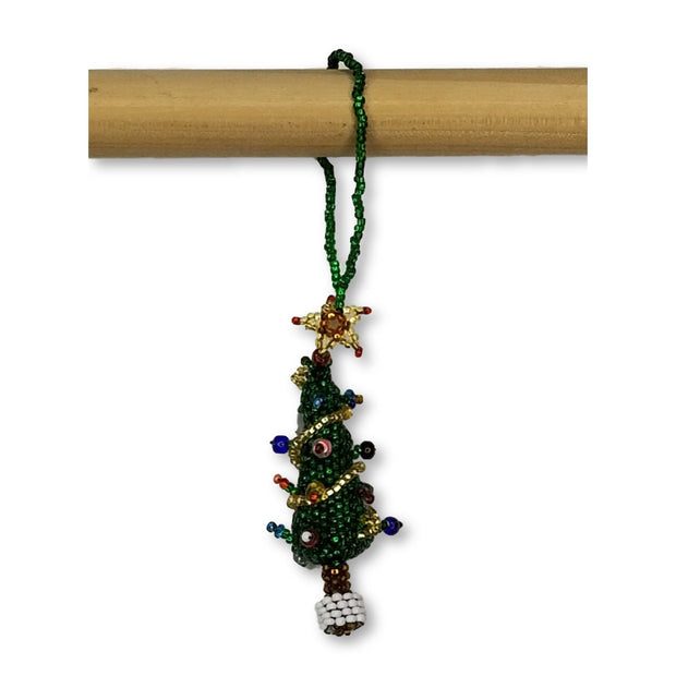 Tree Beaded Ornament - Guatemala-Shop All-Lumily Fair Trade