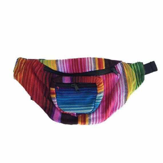 Unisex Fanny Pack / Hip Pack - Guatemala-Bags-Lumily Fair Trade