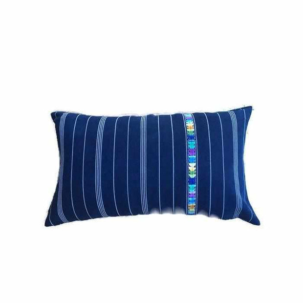Lumbar Demin Pillow Cover - Guatemala