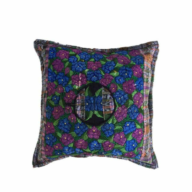 Maya Floral Pillow Cover  - Guatemala