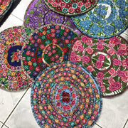 Up-cycled Moon Floral Pillow Cover (Assorted) - Guatemala-Shop All-Lumily Fair Trade