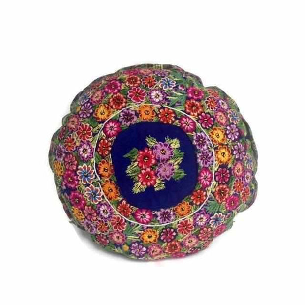 Moon Floral Pillow Cover  - Guatemala