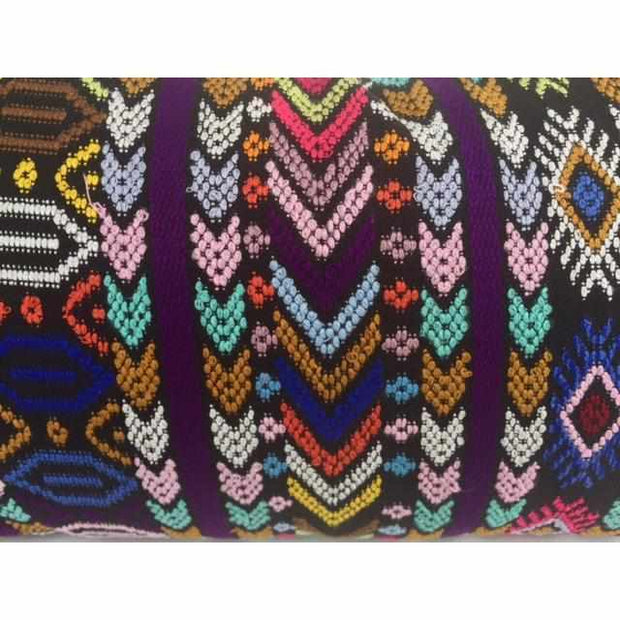 Up-cycled Pueblo Lumbar Pillow Cover - Guatemala-Shop All-Lumily Fair Trade