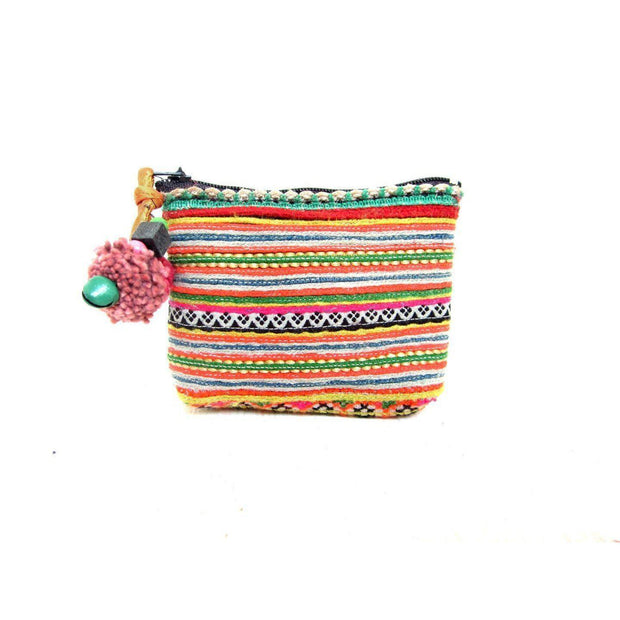 Vintage Tiny Coin Purse - Thailand (Assorted)-Bags-Lumily Fair Trade